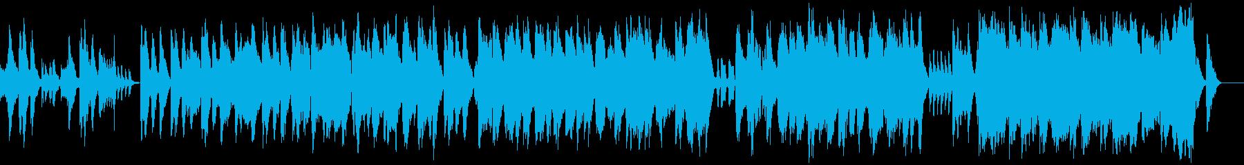 オーケストラ楽器タンゴの世界のテー...の再生済みの波形