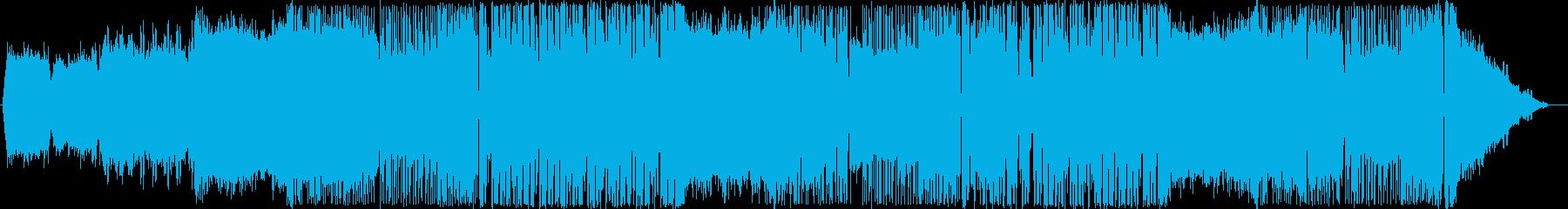 サイバーパンク・ゴシック系EDMの再生済みの波形