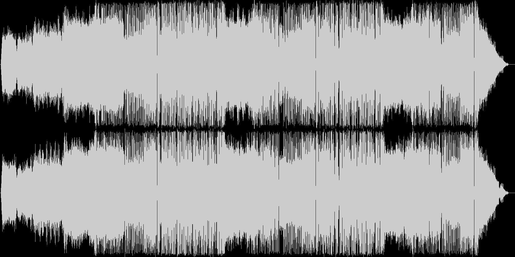 サイバーパンク・ゴシック系EDMの未再生の波形