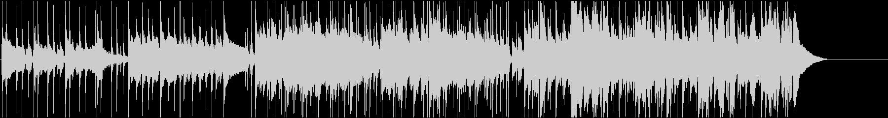 英語女性明るいポップ ピアノBPM100の未再生の波形