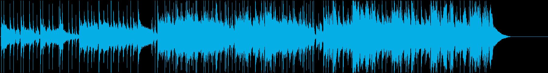 英語女性明るいポップ ピアノBPM100の再生済みの波形