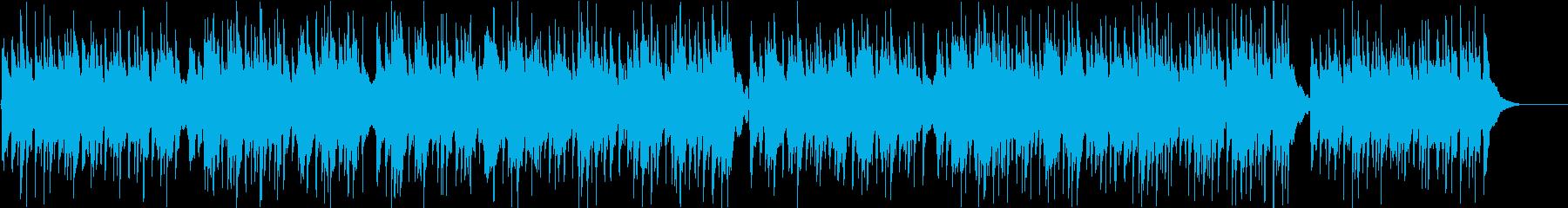 アコギ 生演奏 夕日 海岸 波の音の再生済みの波形