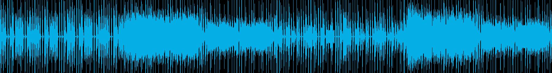 動画・配信向けかわいい休日っぽさのある曲の再生済みの波形