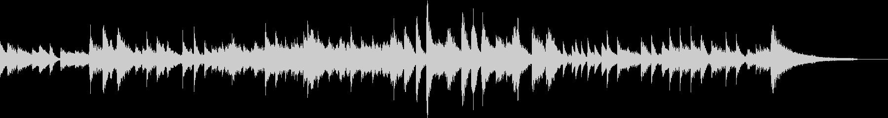 G線上のアリアピアノジャズ風CM向きの未再生の波形