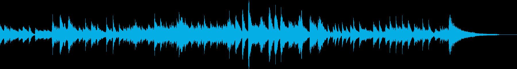 G線上のアリアピアノジャズ風CM向きの再生済みの波形