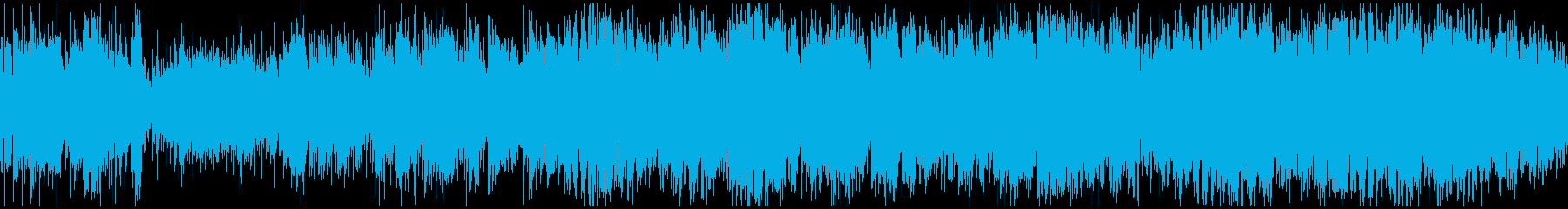 元気アコースティックポップス ※ループ版の再生済みの波形