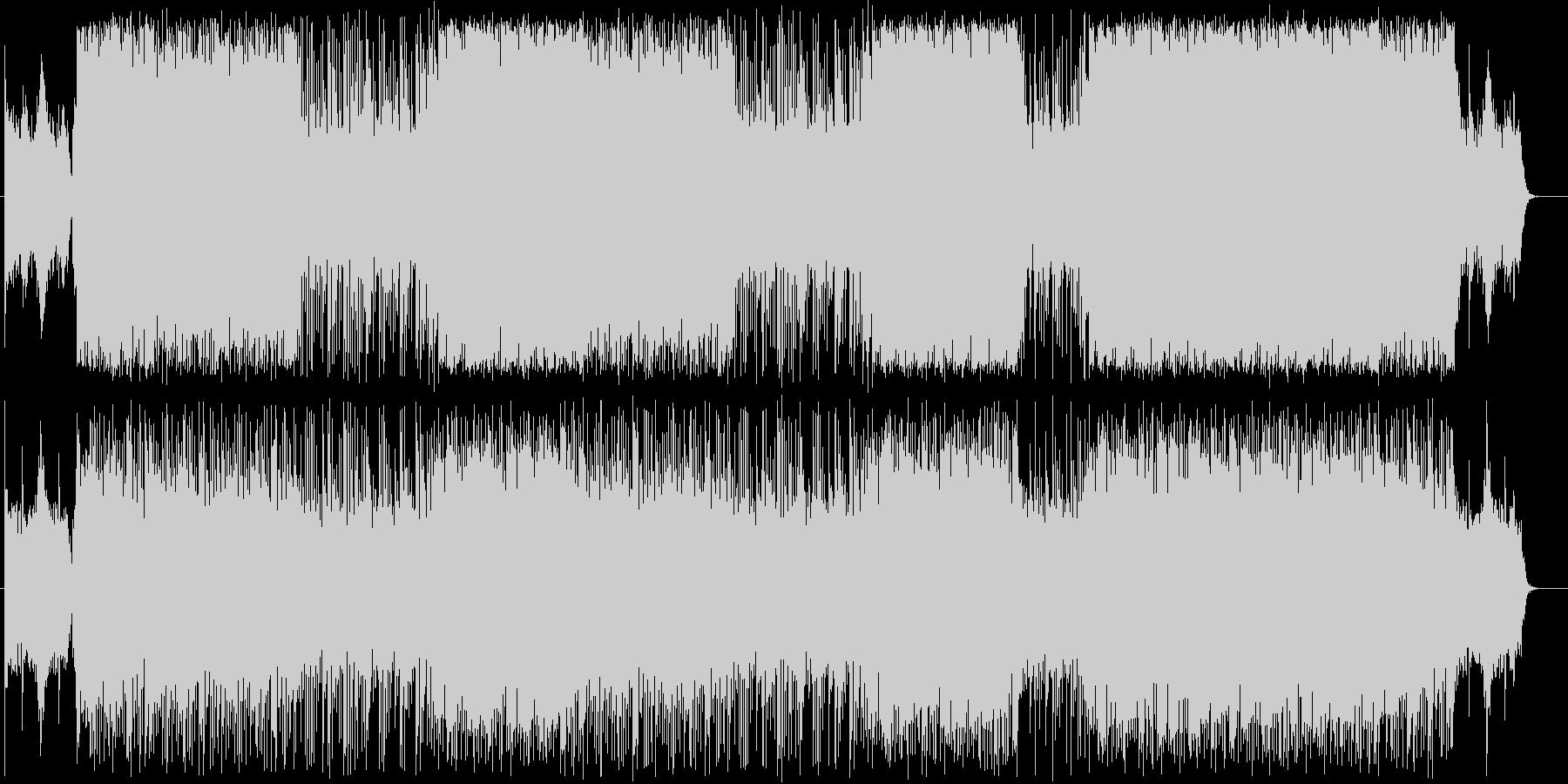 ヒップホップ/ファンタジア/重低音/#2の未再生の波形