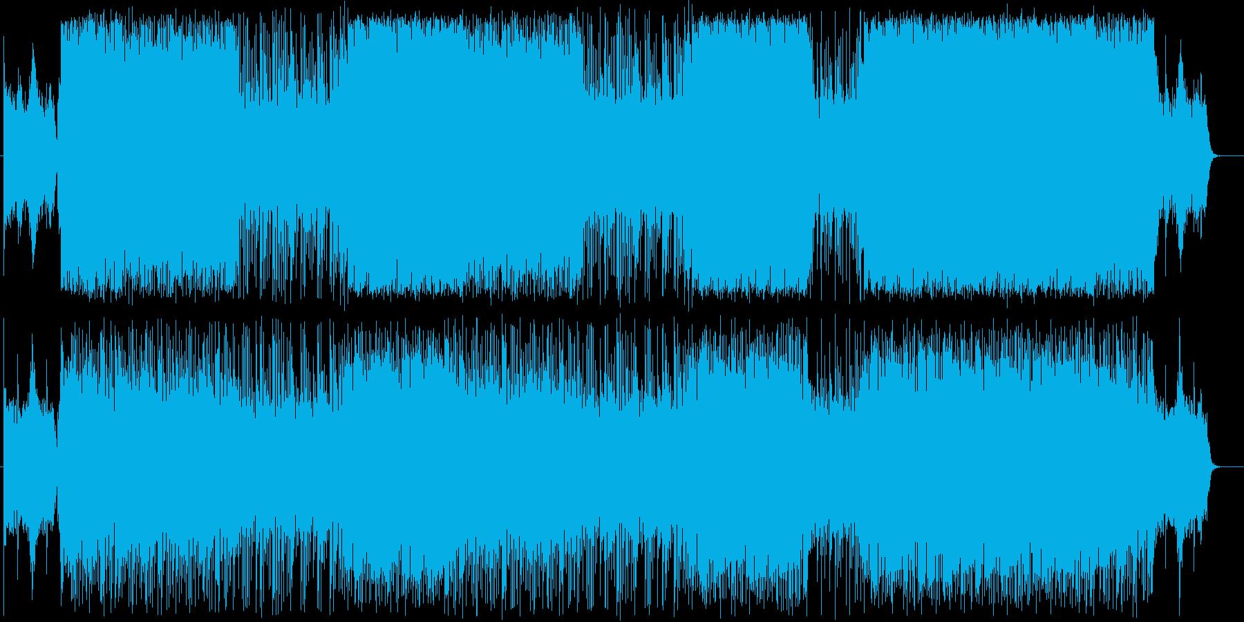 ヒップホップ/ファンタジア/重低音/#2の再生済みの波形