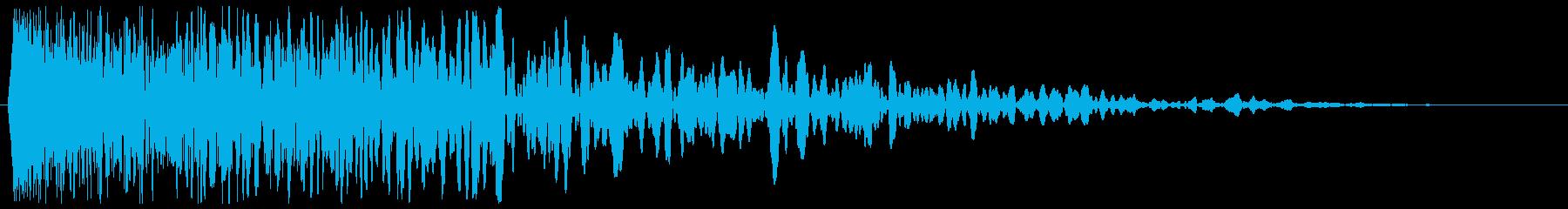 チュワーン(シューティング)の再生済みの波形