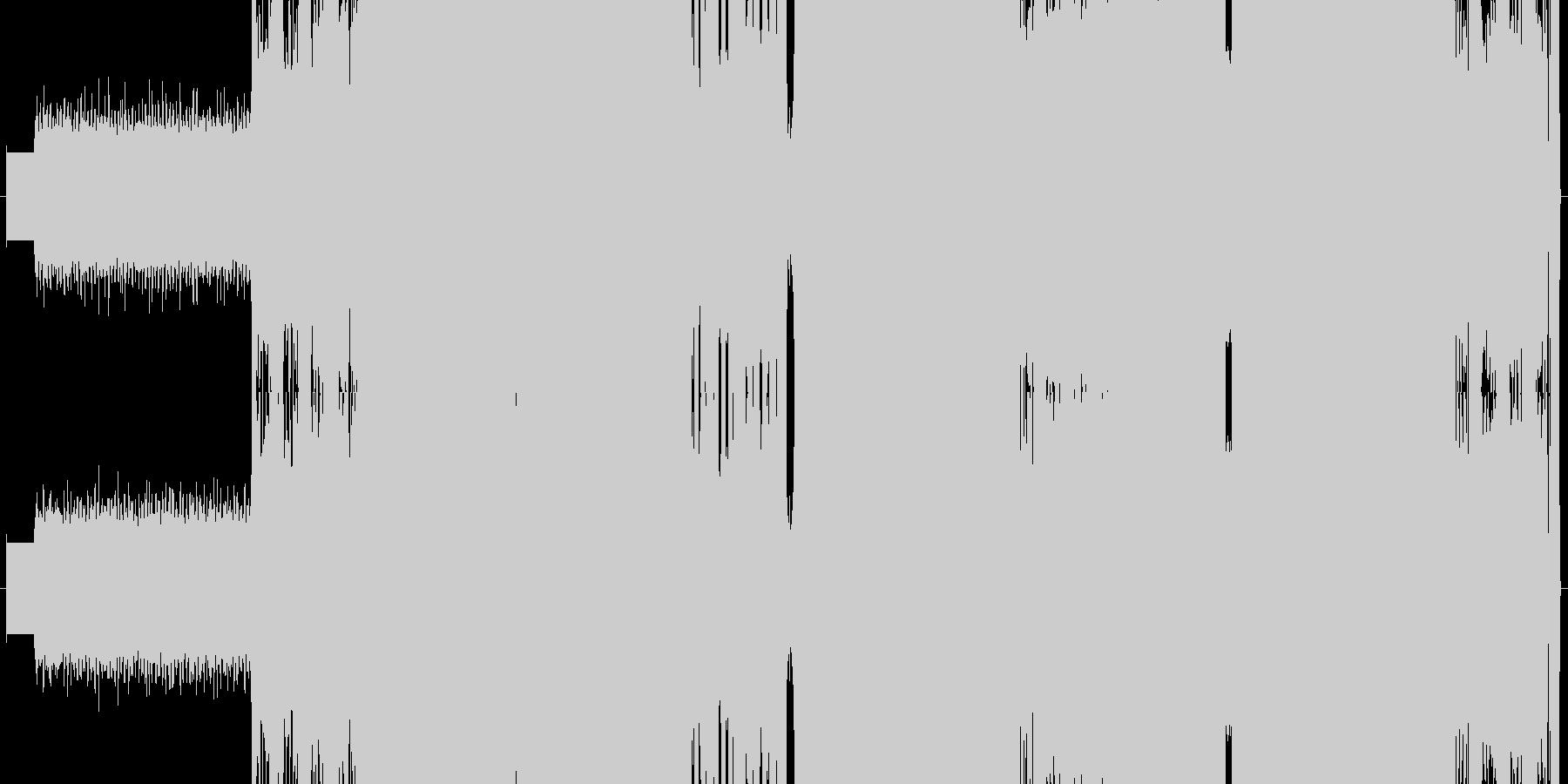 ヘッドフォン・ララバイの未再生の波形