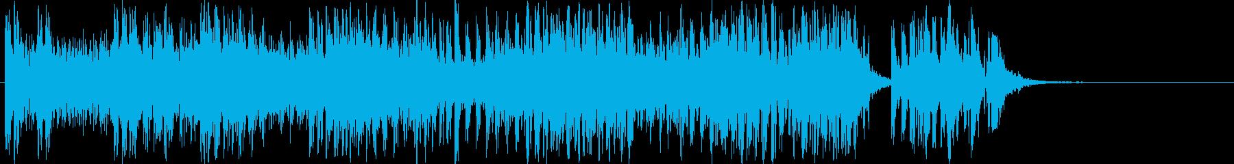 マシンガンアサルト:コンスタントバ...の再生済みの波形