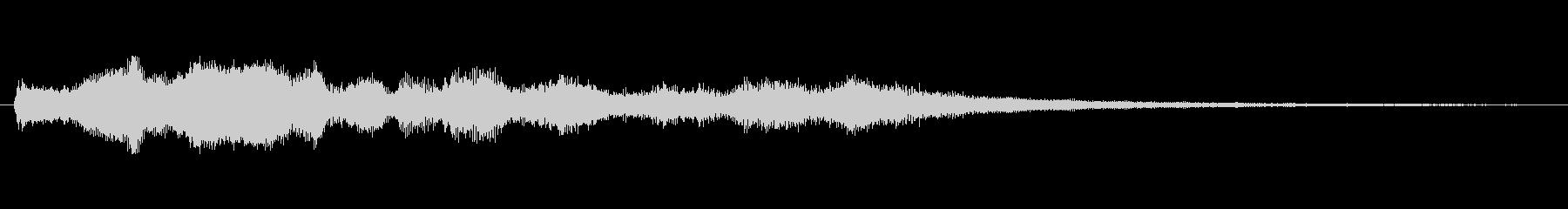 ボコーダ ボコーダーボーカル02の未再生の波形