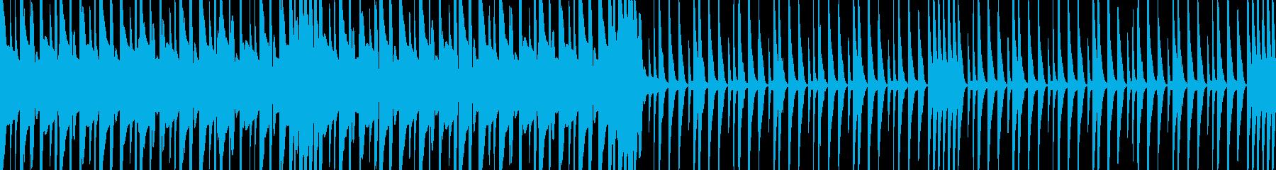 【Loop】Acid beatの再生済みの波形