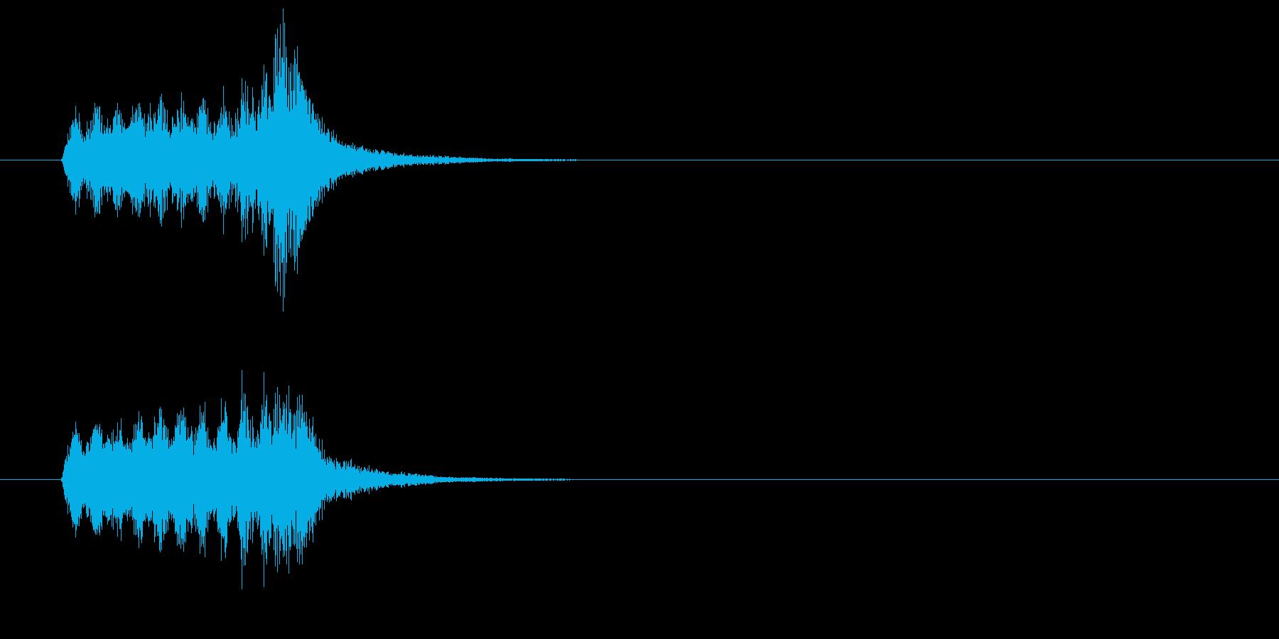 ジングル(オーケストレーション・タッチ)の再生済みの波形