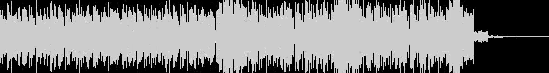 過激な音色構成のテクノ+トランス SAの未再生の波形