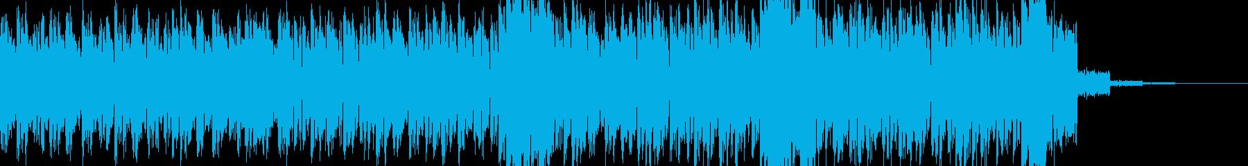 過激な音色構成のテクノ+トランス SAの再生済みの波形