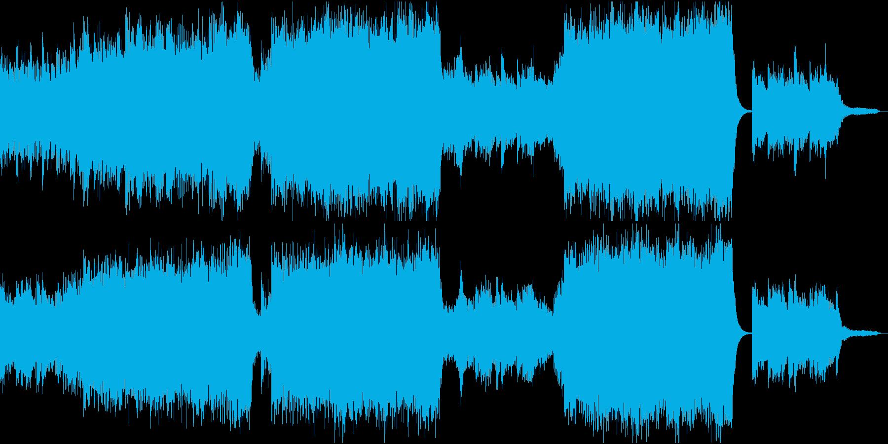 ヒーリング系 感動的なエピック 映画 海の再生済みの波形