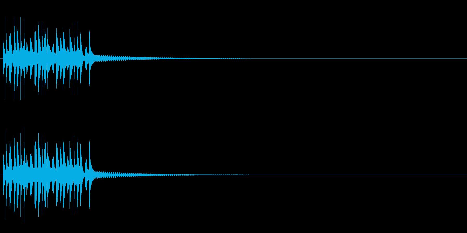 スモールシルバーイングリッシュディ...の再生済みの波形