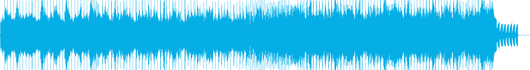A mix of Japanese and modern music BGM's reproduced waveform