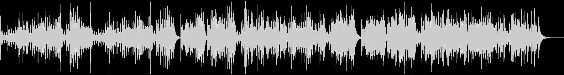 G線上のアリア オルゴールの未再生の波形