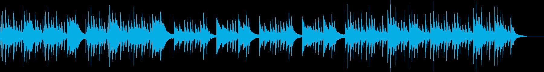 ゆったりとしたシンプルなピアノソロの再生済みの波形
