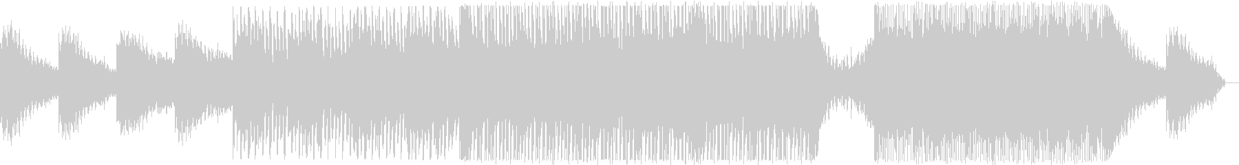 エレクトロニックなサウンドと暗いム...の未再生の波形