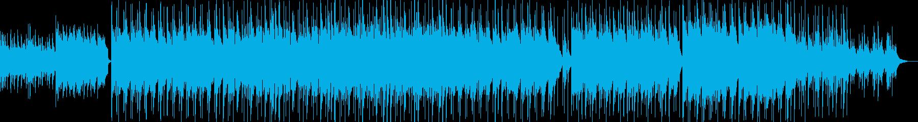 美しい琴、フルートの癒しの和風BGMの再生済みの波形