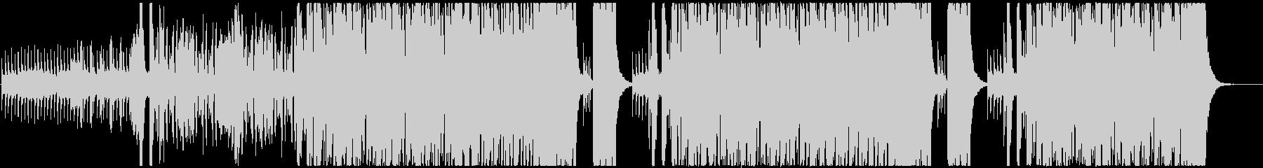 オーケストラ調のハロウィン風BGMの未再生の波形