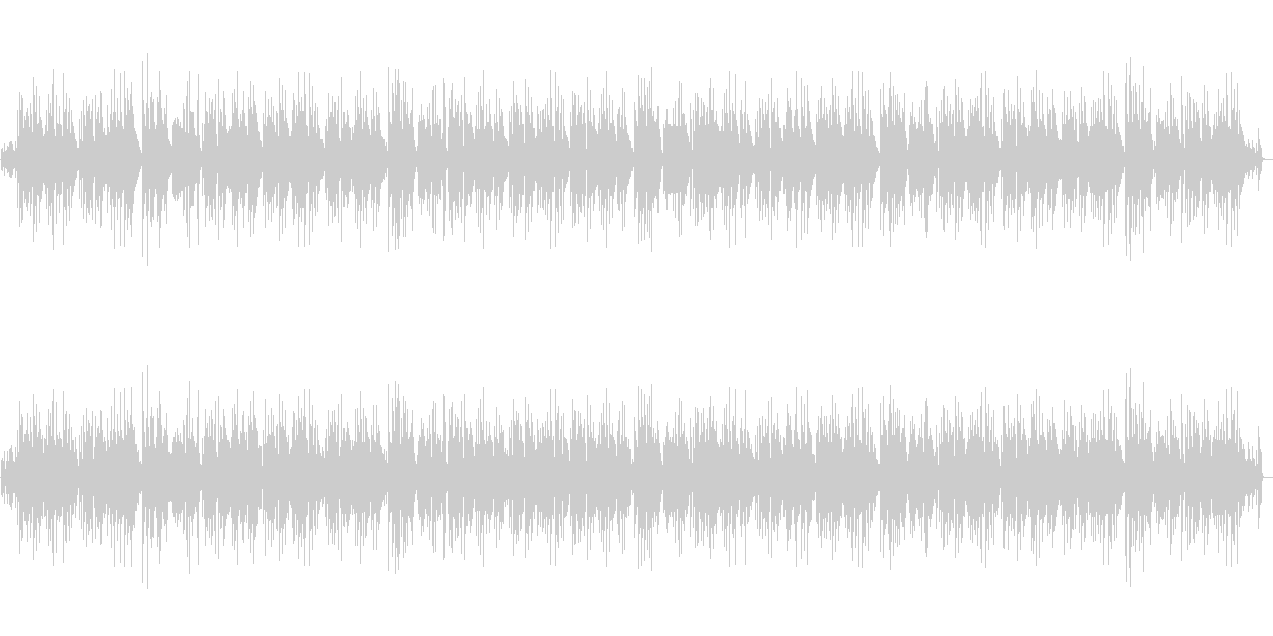 明るく陽気なピアノBGM・CMや映像にの未再生の波形