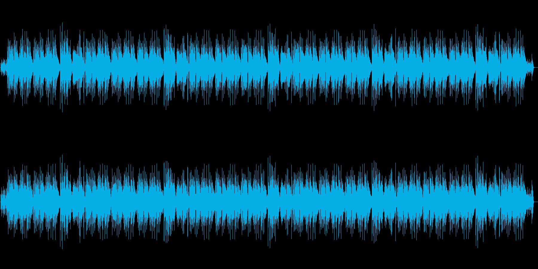 明るく陽気なピアノBGM・CMや映像にの再生済みの波形