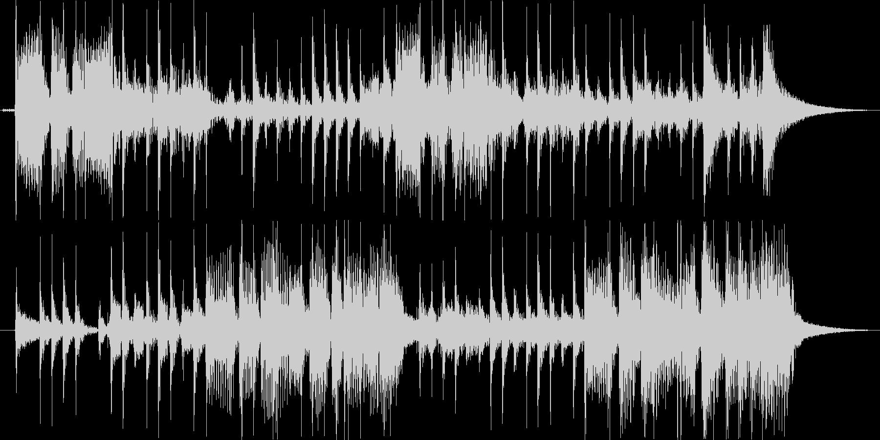 ベース スラップフレーズのジングルの未再生の波形