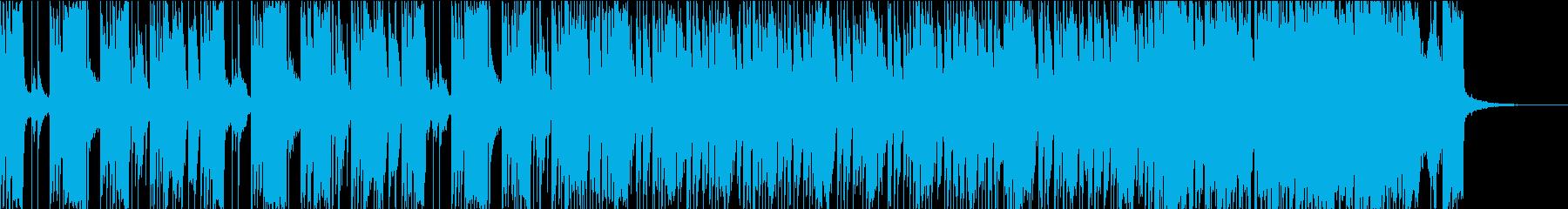疾走感でエンディング、追跡、覚醒シーンにの再生済みの波形