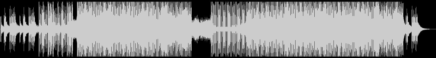 アップテンポで明るいシンセのメロディーの未再生の波形