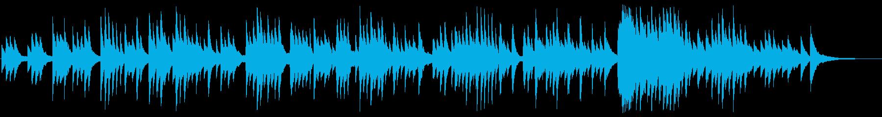 「思い出のアルバム」のアレンジBGMの再生済みの波形