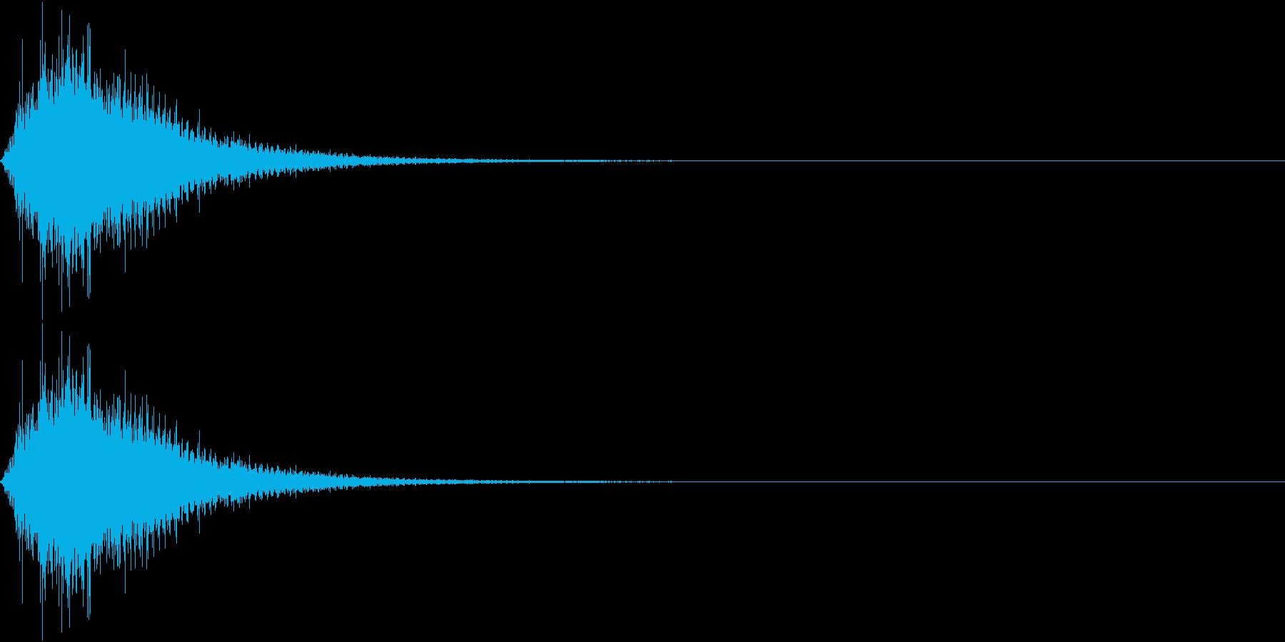 キュウィーン・シャキーン・変身2の再生済みの波形