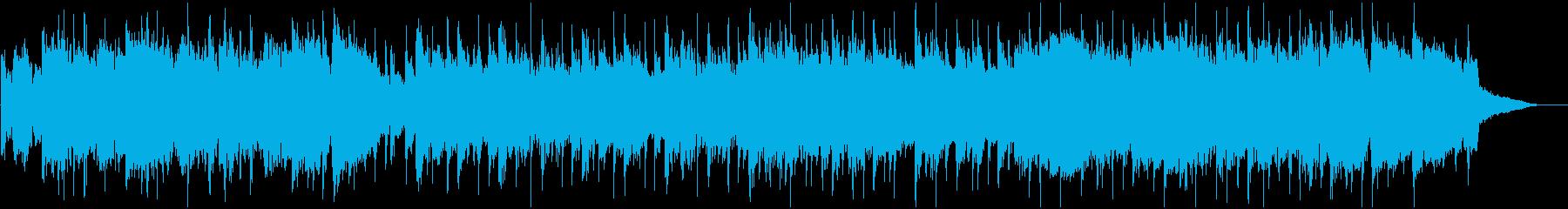 ゆったり和楽器ポップ・ショートVerの再生済みの波形