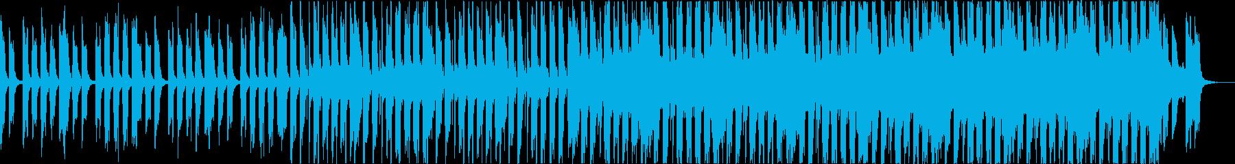 爽やかおしゃれかわいい軽快なボサノバbの再生済みの波形