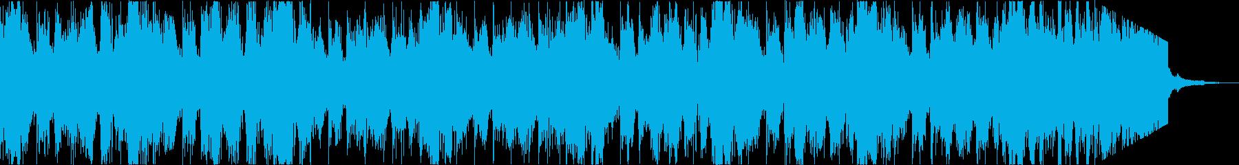 軽快おしゃれニューディスコエレクトロcの再生済みの波形