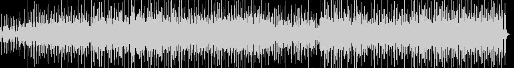 荒々しい三味線と和太鼓の未再生の波形