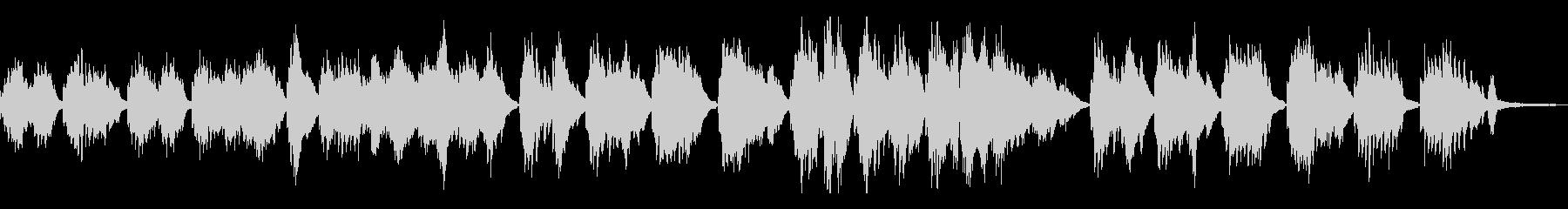星空/しっとりした和風曲21-ピアノソロの未再生の波形