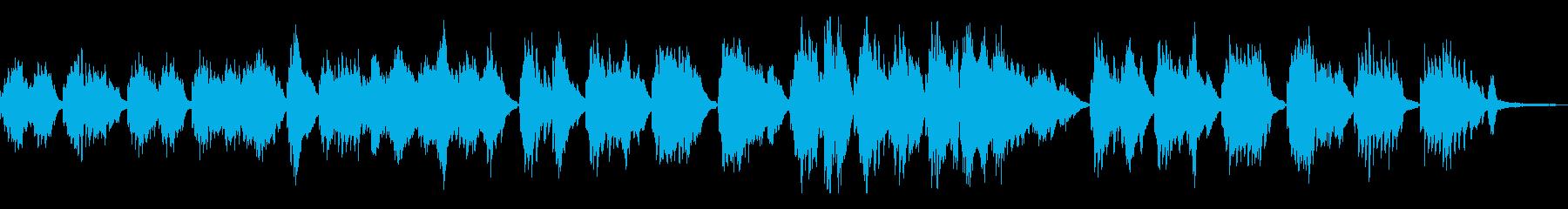 星空/しっとりした和風曲21-ピアノソロの再生済みの波形