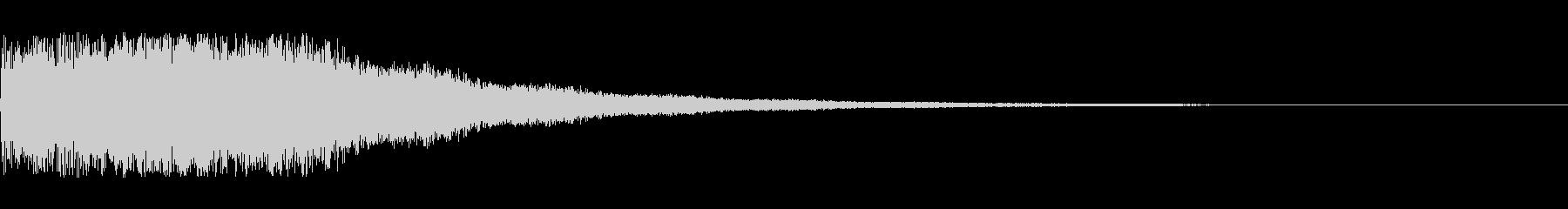 電子音 場面転換2の未再生の波形