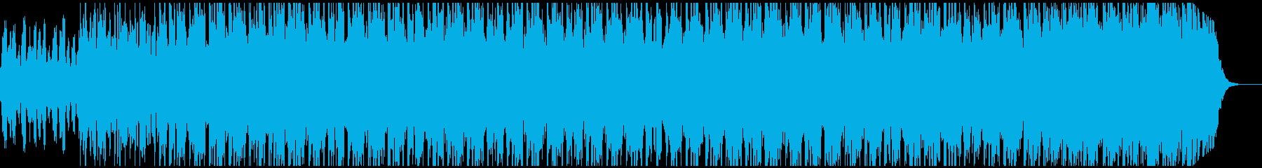 ジブリ的なメロで浮遊感のあるテクスチャーの再生済みの波形