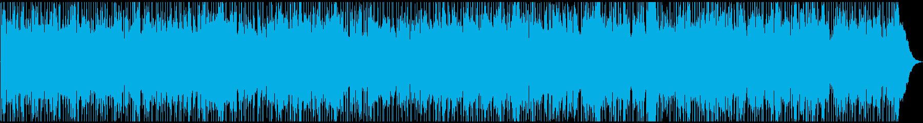 ほのぼのとした日常風景にぴったりのBGMの再生済みの波形