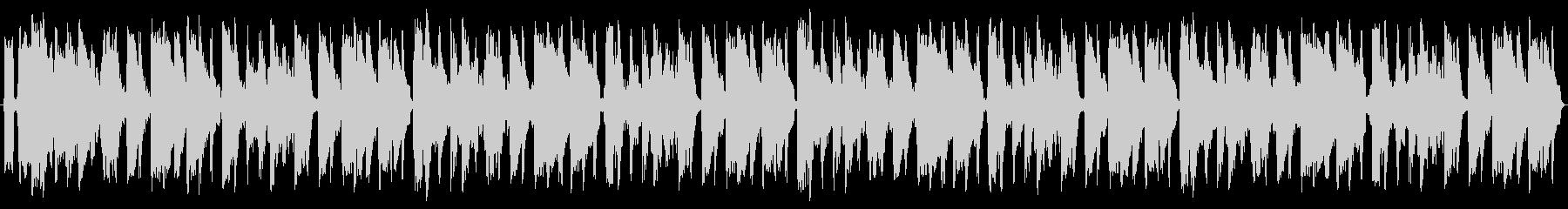 フォナーベッドの未再生の波形