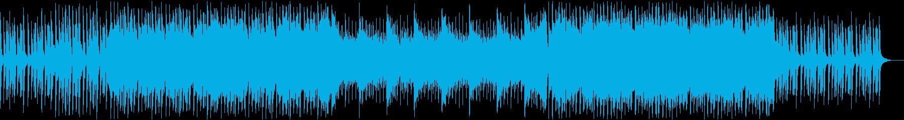 ノスタルジック・星空・感動の再生済みの波形