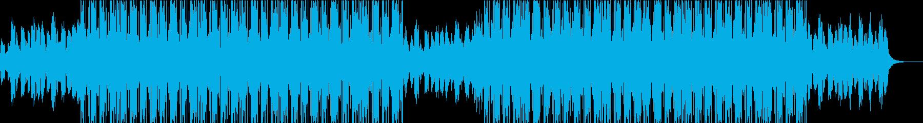 雨 悲しい ヒップホップ ビートの再生済みの波形