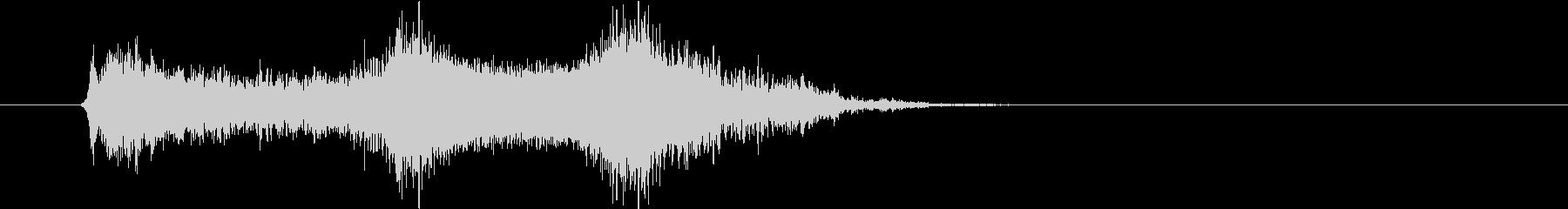 タイトルロゴ|デジタル Aの未再生の波形