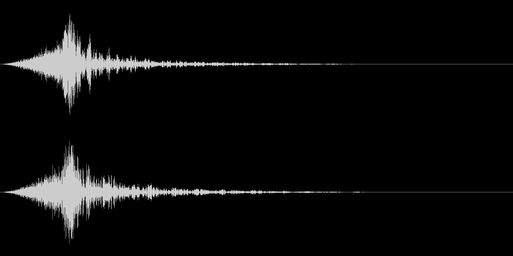 シュードーン-64-4(インパクト音)の未再生の波形