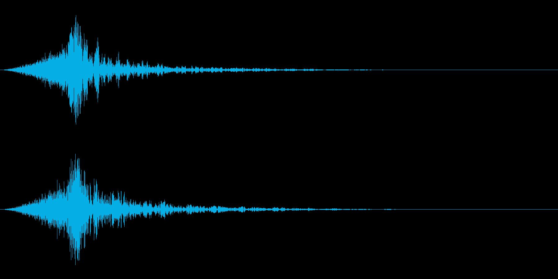 シュードーン-64-4(インパクト音)の再生済みの波形